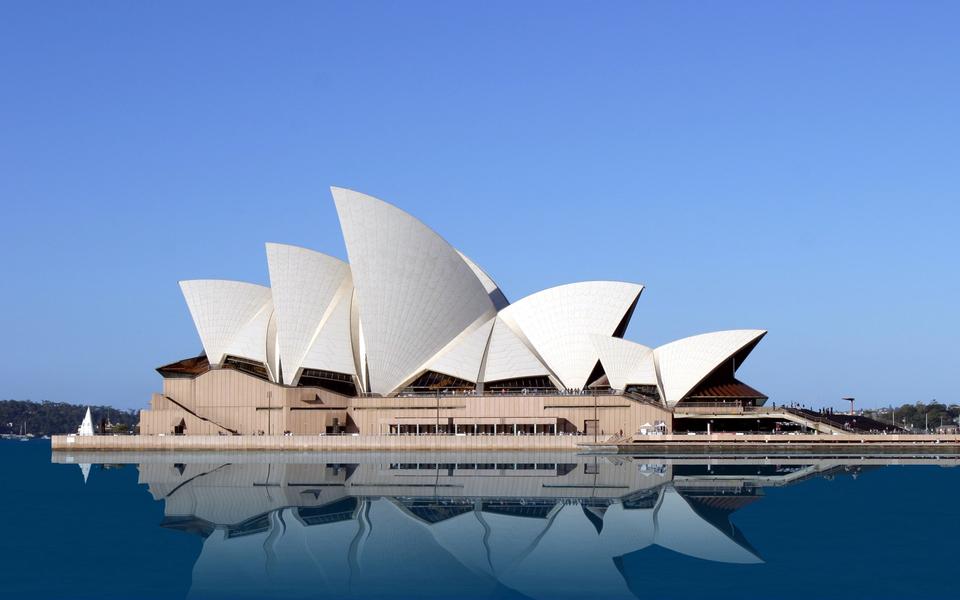 悉尼歌剧院经典建筑壁纸