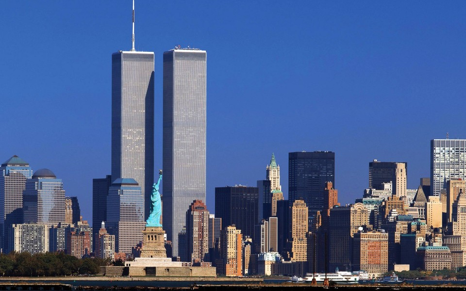 纽约世贸双塔宽屏壁纸