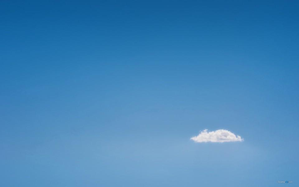 蓝天白云 互联网 微软云