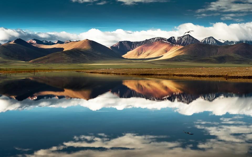 电脑壁纸 自然风景壁纸 西藏美丽风光高清桌面壁纸下载