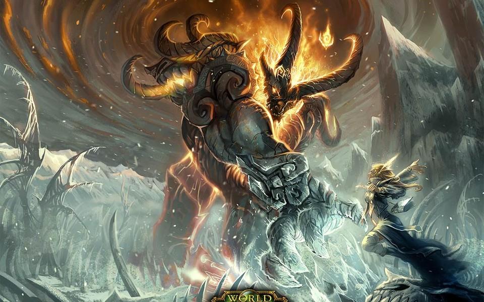 《炉石传说:魔兽英雄传》高清壁纸下载   (8/13) 小箭头图标亲~快来扫