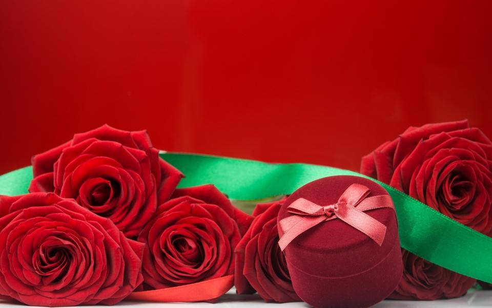 情人节玫瑰电脑壁纸图片