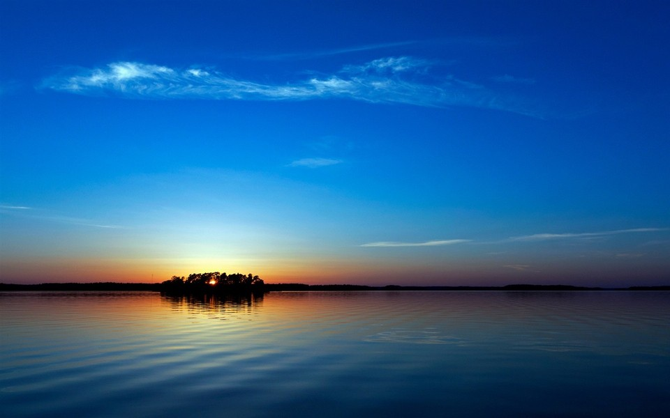 日落唯美高清风景壁纸-zol桌面壁纸