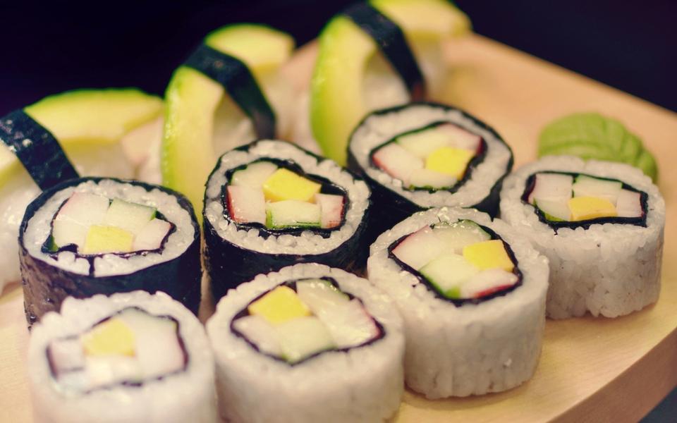 寿司美食高清电脑壁纸