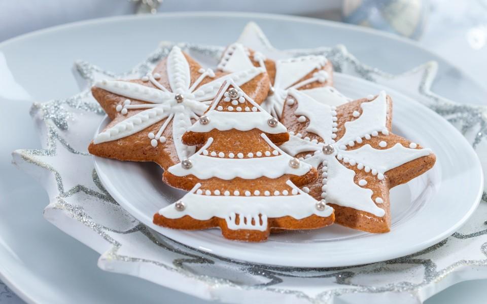 饼干可爱圣诞壁纸