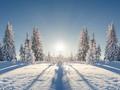 纯美雪景iPad壁纸