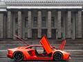 霸气橙色兰博基尼 LP700-4高清壁纸