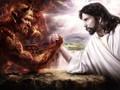 耶稣搞笑高清桌面壁纸