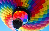彩色热气球宽屏壁纸图集