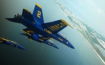 空中的飞机宽屏壁纸