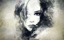 艺术美女桌面壁纸下载