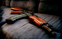 AK 47自动步枪高清壁纸