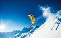 滑雪圣地阿尔卑斯山壁纸