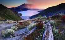 高山湖泊高清壁纸1080P