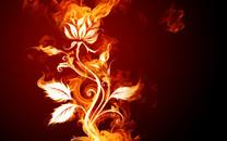 火焰创意高清桌面壁纸