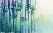 炫彩花卉创意桌面壁纸