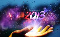 Happy New Year 2013桌面壁纸