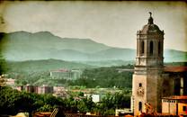 HDR西班牙城市建筑桌面壁纸
