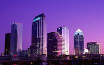 城市夜景高清桌面壁纸