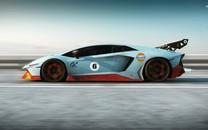 不同型号的兰博基尼超级跑车