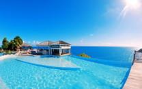 清新蓝色海岸高清风景桌面壁纸