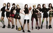 少女时代 韩国美女明星组合壁纸