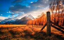 秋天景色桌面壁纸