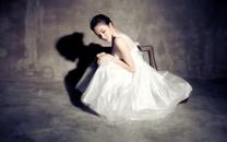 刘雨欣白色性感写真壁纸