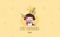 蘑菇点点女王节壁纸
