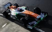 F1车队印度力量高清壁纸