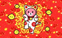 Luca熊鸡年卡通壁纸