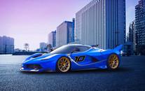 法拉利FXX高清跑车壁纸
