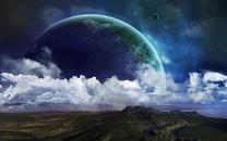 外太空精美行星设计高清壁纸