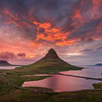 冰岛基尔丘山优美风景壁纸