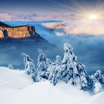 雪景ipad高清壁纸桌面