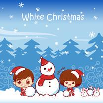 摩丝摩丝圣诞iPad壁纸