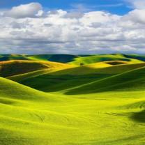 美丽的草原风光宽屏壁纸