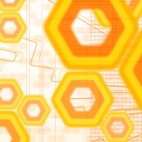 缤纷黄色系高清iPad壁纸
