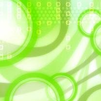 缤纷绿色系高清iPad壁纸