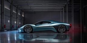 蔚来EP9极限性能电动超跑汽车壁纸