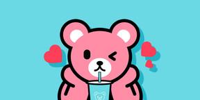 Luca熊三月壁纸