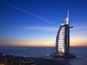安卓宽屏 风光 城市 迪拜手机壁纸