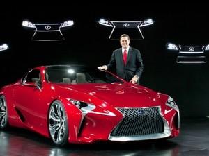 安卓雷克萨斯 LFLC Sports Coupe Concept 2012款 跑车手机壁纸