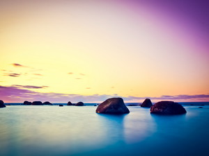 安卓海滨 高清 唯美 风情手机壁纸