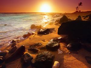 安卓海岸线 海岸 唯美手机壁纸
