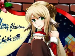 安卓动漫 可爱 圣诞节手机壁纸