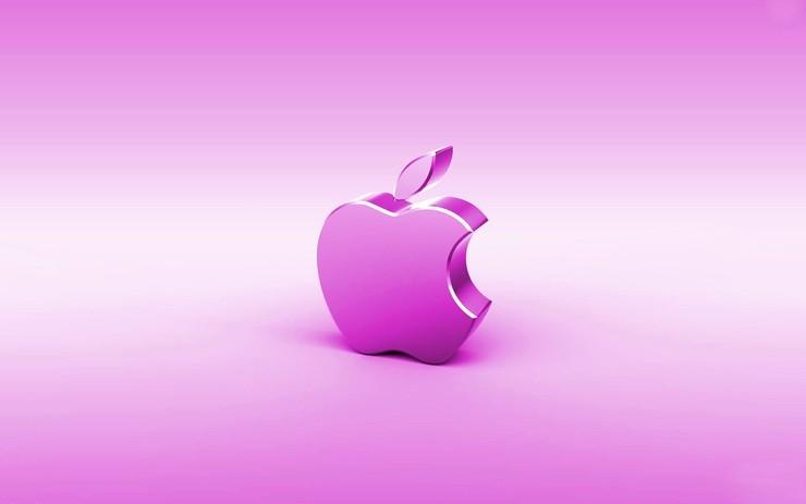 安卓苹果 logo手机壁纸
