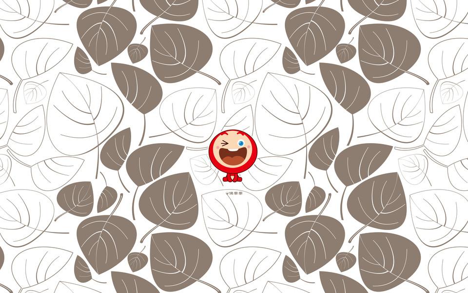 佛果果表情可爱高清桌面壁纸