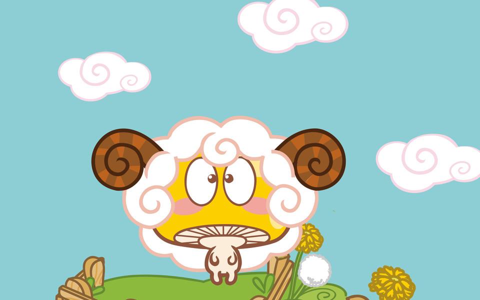 蘑菇点点mogoo可爱ipad壁纸