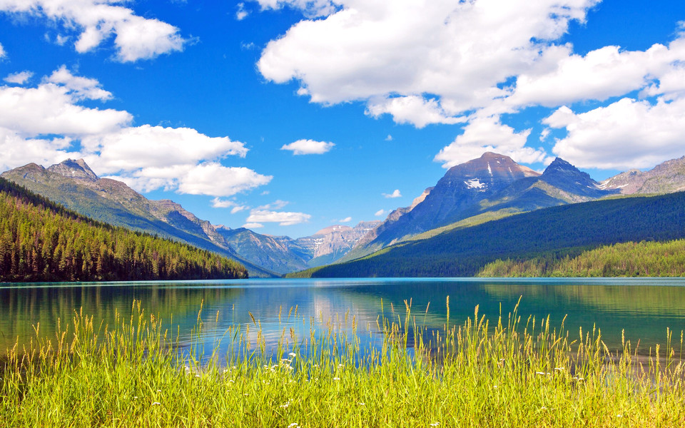 电脑壁纸 唯美意境壁纸 唯美蓝色桌面风景壁纸下载